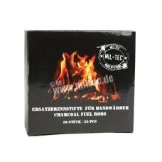 Топливо сухое для грелки (20 кусочков, уголь)