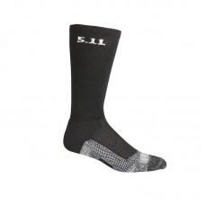 """Носки тактические средней плотности """"5.11 Tactical Level I 9"""" Sock - Regular Thickness"""" Black"""