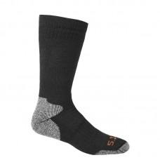 """Носки тактические """"5.11 Tactical Merino Wool Cold Weather OTC Sock"""" Black"""