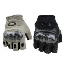 Перчатки тактические (беспалые) Black