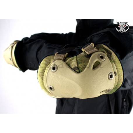 """Налокотники военные тактические """"LWE"""" (Lightweight Elbow Pads) Multicam"""