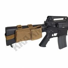 Подсумок для магазина M4/M15/M16 на приклад Coyote