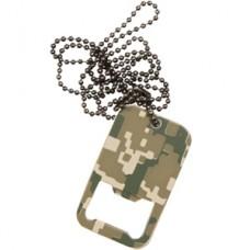"""Жетон-открывачка военный """"DOG TAG BOTTLE OPENER"""" AT-DIGITAL"""