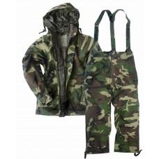 """Куртка влагозащитная Mil-Tec """"US JACKET TRILAMINAT"""" Woodland"""