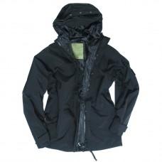 """Куртка влагозащитная Mil-Tec """"US JACKET TRILAMINAT"""" Black"""