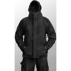 Куртка непромокаемая с флисовой подстёжкой Mil-Tec Black