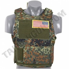 Жилет PT Tactical Body Armor Flecktarn