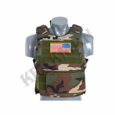 Жилет PT Tactical Body Armor Woodland
