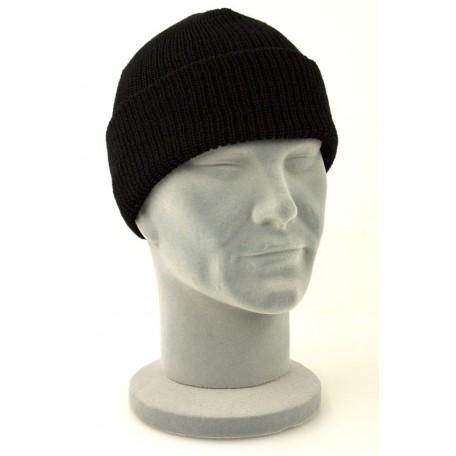 """Зимняя шапка акриловая тонкой вязки """"Beanie Cap"""""""