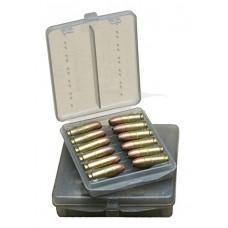 Коробка для патронов MTM кал. 45 ACP. Количество - 18 шт. Цвет - дымчатый