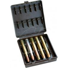 Коробка MTM African Big Game Ammo Carrier на 10 патронов кал. 378; 416; 470; 500NE. Цвет – коричневый