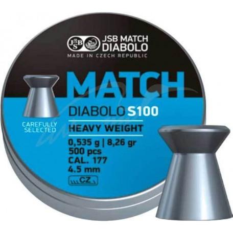 Пули пневматические JSB Match HW S100