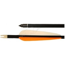Стрела для лука Man Kung MK-CA28. Карбон. Цвет - серый