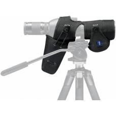 Чехол защитный для зрительной трубы Zeiss Diascope 85 T* FL с прямым окуляром. Материал - нейлон. Цвет - черный.