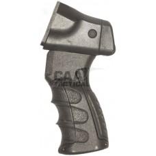 Рукоятка пистолетная CAA для Rem870 с переходником для трубы приклада. Материал - пластик. Цвет - черный.