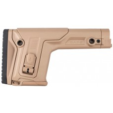 Приклад FAB Defense RAPS с регулиреумой щекой и затыльником без трубы. Цвет - песочный