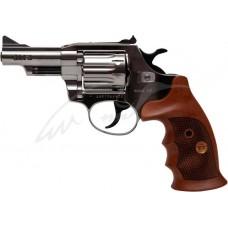 Револьвер флобера Alfa mod. 431 никель/дерево