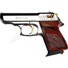 Пистолет стартовый EKOL LADY кал. 9мм. Цвет - белый