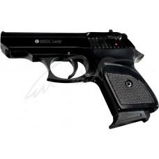 Пистолет стартовый EKOL LADY кал. 9мм. Цвет - черный