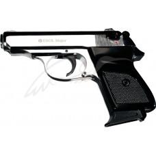 Пистолет стартовый EKOL MAJOR кал. 9мм. Цвет - серый хромированный
