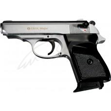 Пистолет стартовый EKOL MAJOR кал. 9мм. Цвет - серый сатин
