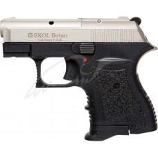 Пистолет стартовый EKOL BOTAN кал. 9мм. Цвет - белый сатин/черный