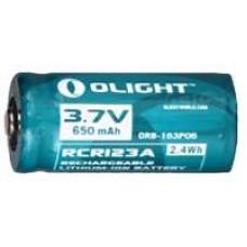 Аккум. батарея Olight RCR 123 Li-ion