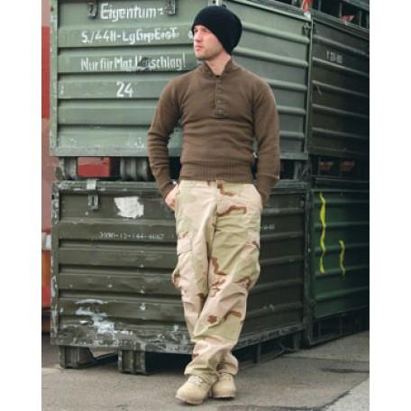 Полевые тактические брюки Mil-Tec BDU US (TR) 3color desert