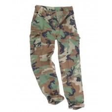 Военные брюки BDU US (искусственно состаренные) Woodland