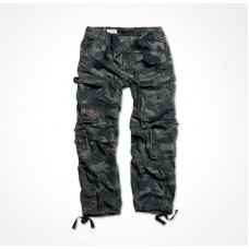 "Брюки ""SURPLUS AIRBORNE VINTAGE TROUSERS"" Black Camo"