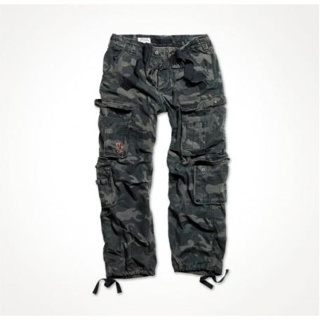"Военные брюки ""SURPLUS AIRBORNE VINTAGE TROUSERS"" Black Camo"