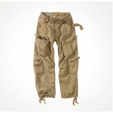 "Брюки ""SURPLUS AIRBORNE VINTAGE TROUSERS"" Washed Beige"