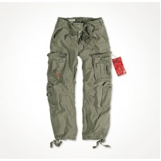 "Брюки ""SURPLUS AIRBORNE VINTAGE TROUSERS"" Washed Olive"