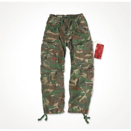 "Военные брюки ""SURPLUS AIRBORNE VINTAGE TROUSERS"" Washed Woodland"