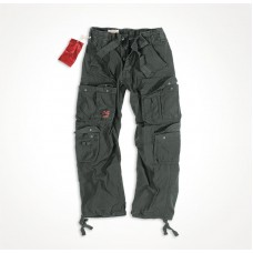"Брюки ""SURPLUS AIRBORNE VINTAGE TROUSERS"" Washed Black"