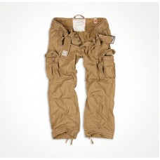"Винтажные брюки ""SURPLUS PREMIUM VINTAGE TROUSERS"" Washed beige"