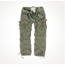 "Винтажные брюки ""SURPLUS PREMIUM VINTAGE TROUSERS"" Washed olive"