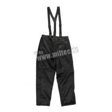 Термо-брюки на подтяжках Black