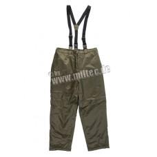 Термо-брюки на подтяжках Olive