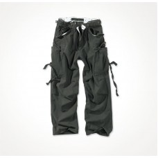 "Винтажные брюки ""SURPLUS VINTAGE FATIGUES TROUSERS"" Washed black"