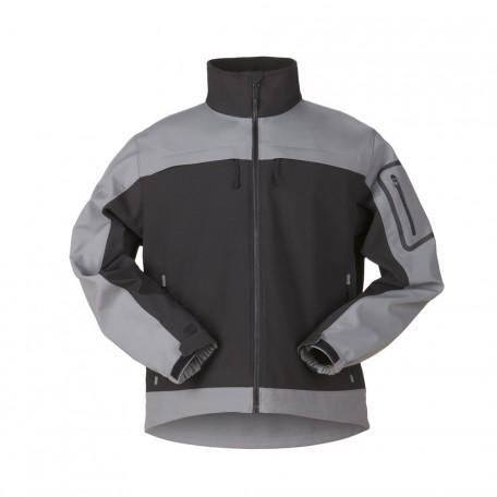 """Куртка тактическая военная для штормовой погоды """"5.11 Tactical Chameleon Softshell Jacket"""" Granite Black"""