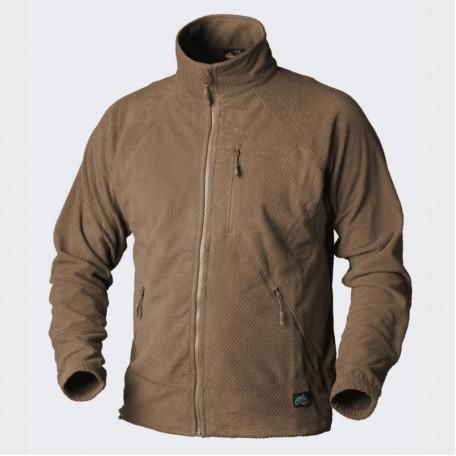Куртка Helikon ALPHA - Grid Fleece Coyote