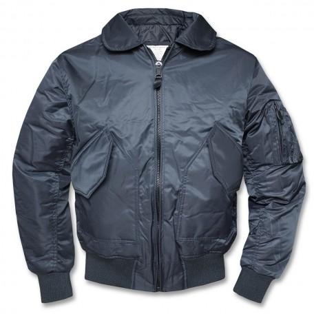 """Демисезонная летная Военная куртка Mil-Tec """"CWU"""" Navy"""