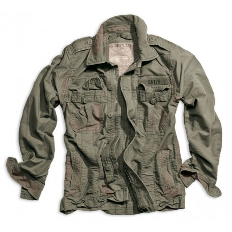 "Куртка винтажная ""SURPLUS HERITAGE VINTAGE JACKET"" Washed Olive"