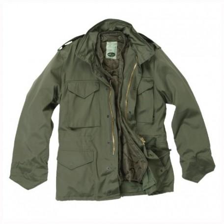 """Куртка военная полевая демисезонная Mil-Tec """"M65"""" olive"""
