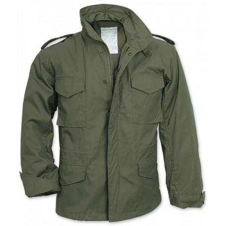 """Куртка полевая демисезонная  оливковая Mil-Tec """"M65 Teesar"""" (TR) - Olive"""