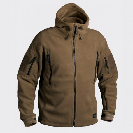 Куртка Helikon Patriot - Double Fleece Coyote