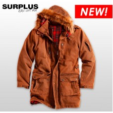"Парка ""SURPLUS XYLONTUM GIANT PARKA"" Gold"