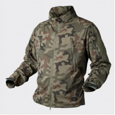Куртка Helikon Trooper - Soft Shell PL Woodland