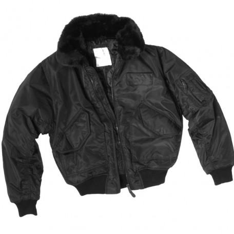 """Военная летная куртка Mil-Tec """"CWU S.W.A.T"""" Sturm Mil-Tec black"""